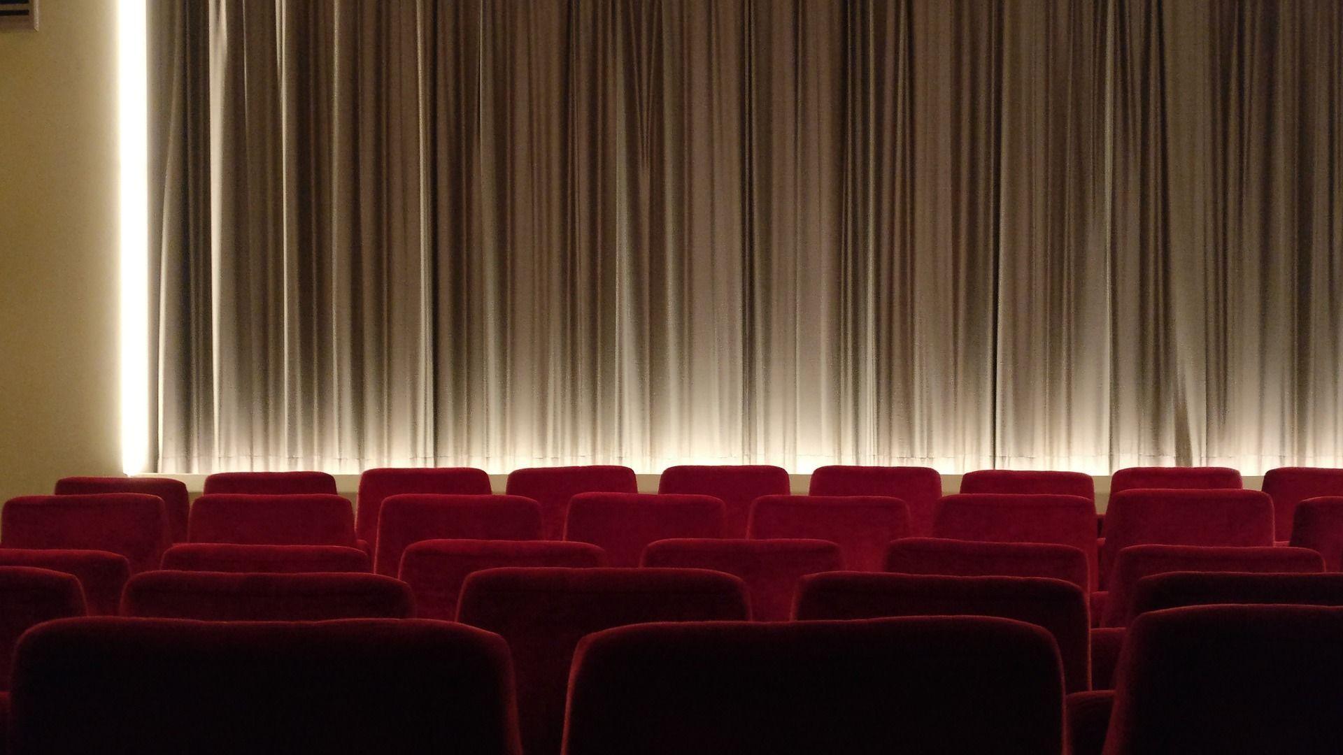 Kinosaal von innen