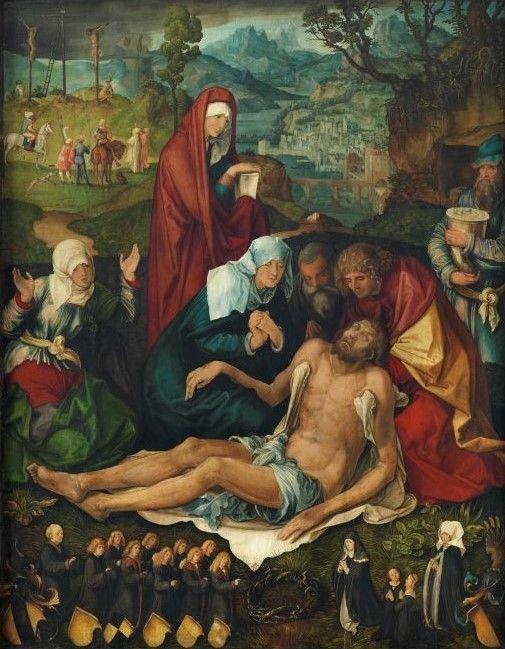 El Greco - die Beweinung Christi