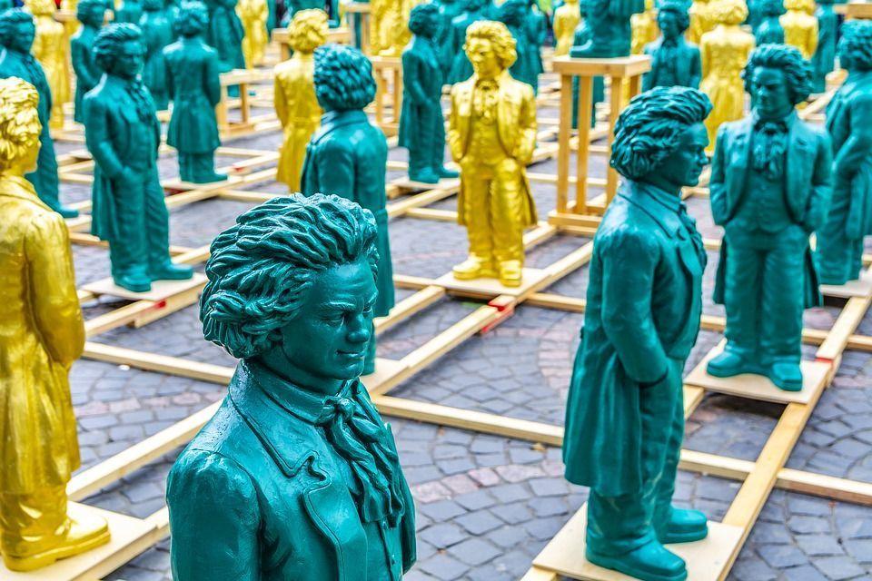 Foto vom Beethoven-Jubiläum Bonn