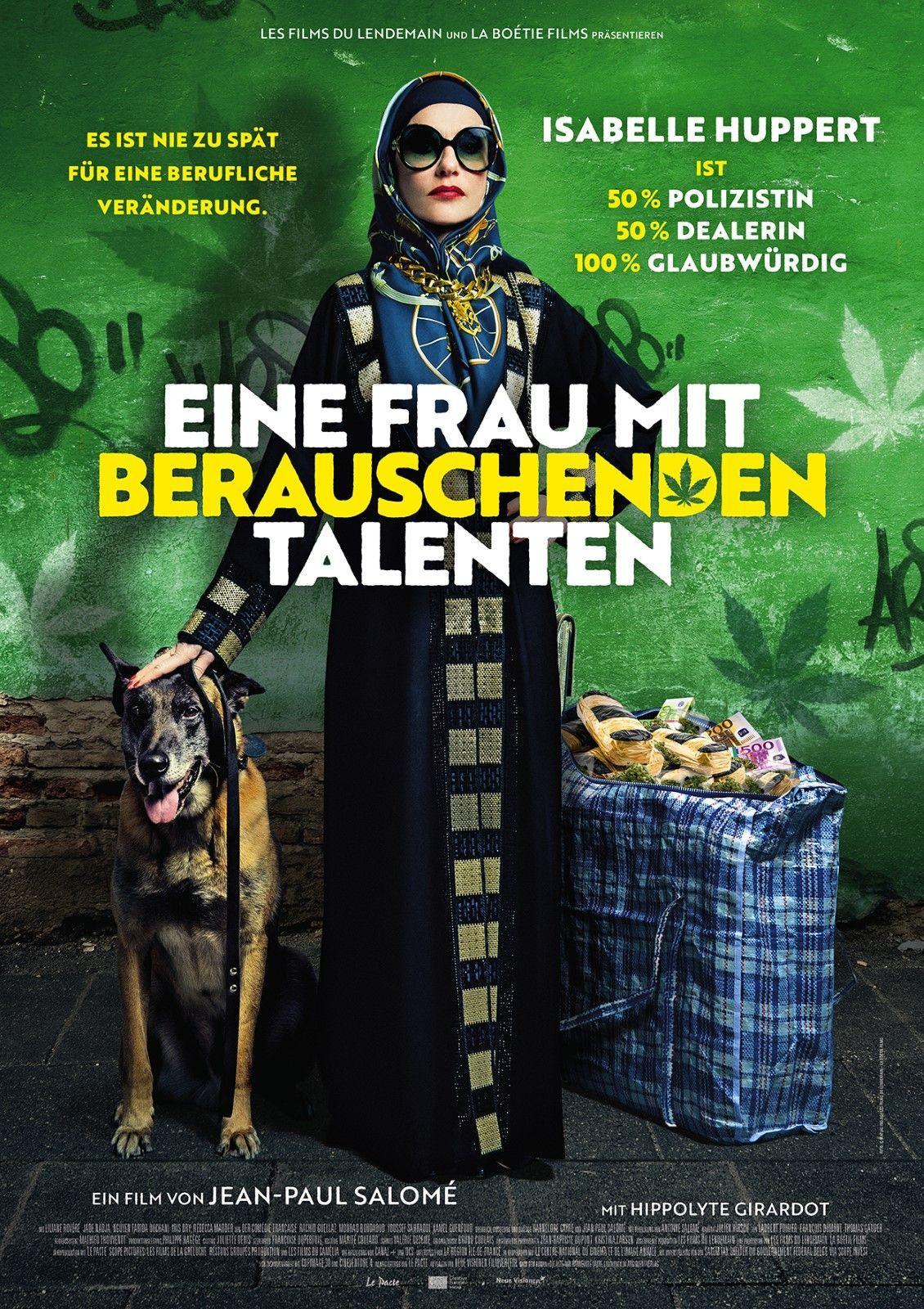 """Filmplakat """"Eine Frau mit berauschenden Talenten"""""""