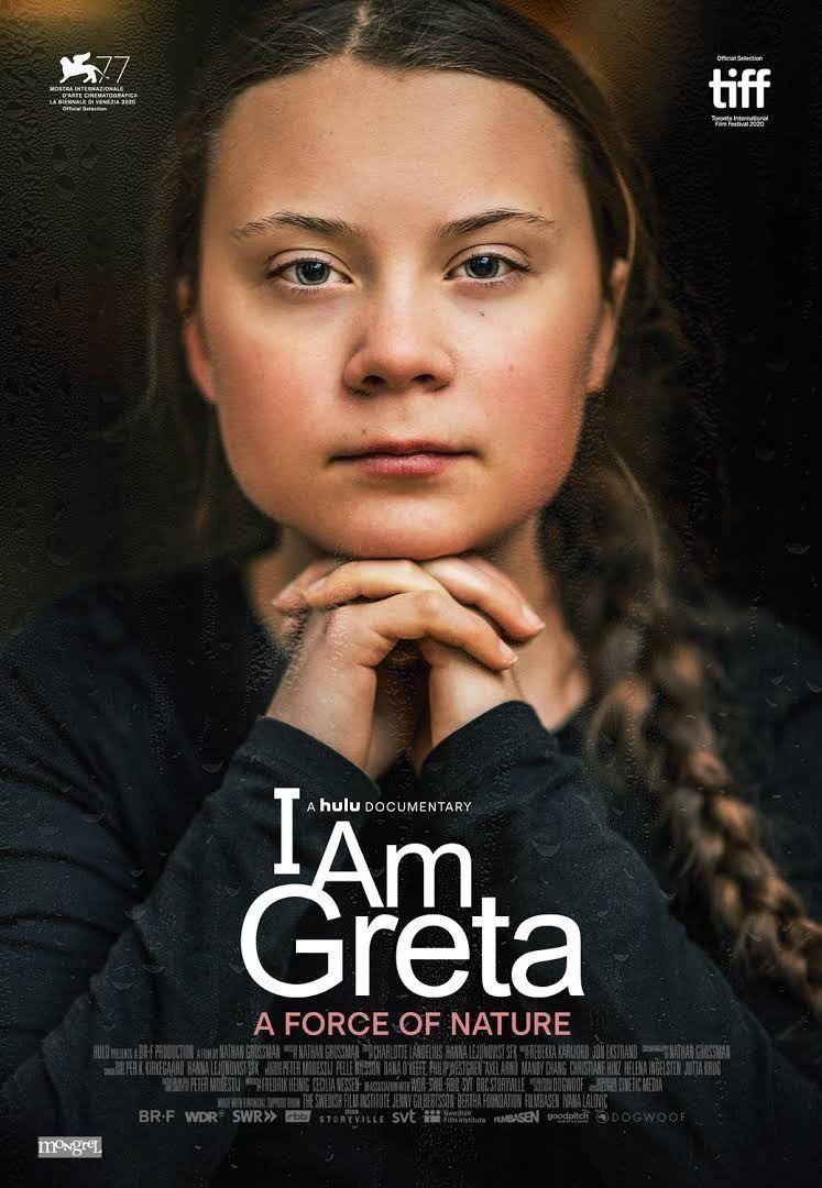 """Filmplakat von """"I am greta"""""""