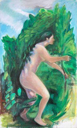 Jagende (Gemälde: Julia Theuring)